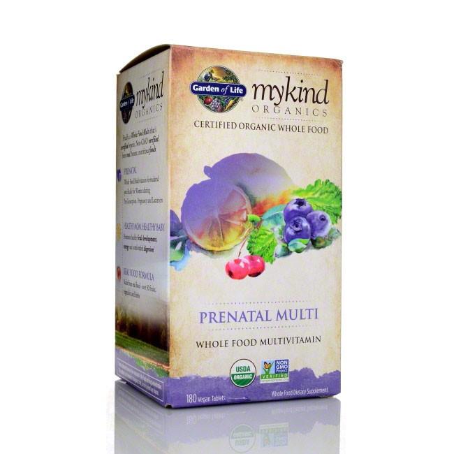 best organic prenatal vitamins